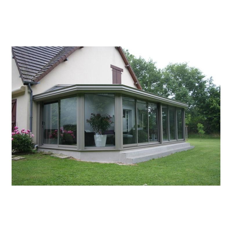 veranda avec muret en pierre. Black Bedroom Furniture Sets. Home Design Ideas